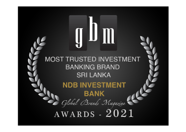 2021 Most Trusted Investment Banking Brand Sri Lanka